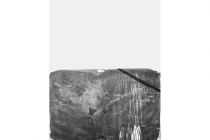 Deauville 2013 #2 (2013) | 180 x 140 cm | silver salt on canvas