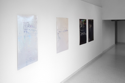 Exhibition view 'Slippages'