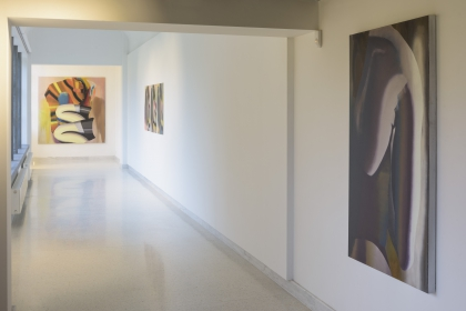 Exhibition view 'Contre - jour'