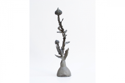 Gather thistles, expect prickles #8 (2018) | 1 of a series of 10 | 48 x 15 cm | bronze